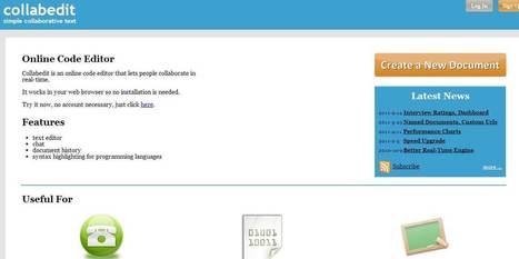 20 Online Code Editors that make developers life easy ~ Web Designer Pad | Webdesign | Wordpress | Joomla | Design | Scoop.it