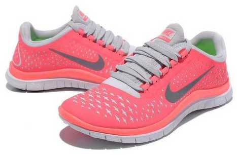 Offer Nike Free 3.0 V4 Womens Shoes Hot Punch Pink Silver UK Free Shipping Comfortable | nike free pink | Scoop.it