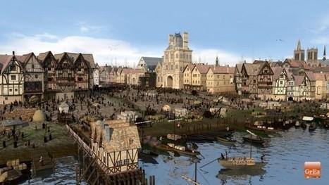 Des images de synthèse vous dévoilent le VISAGE de Paris au Moyen-Age | URBANmedias | Scoop.it