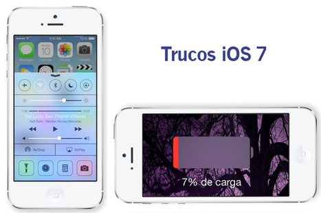 Ahorrar batería en tu iPhone con iOS 7: Trucos y consejos - ComputerHoy.com | Persones Humanes | Scoop.it