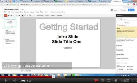 How To Create Presentation Videos Using FREE Software Online | Digital Presentations in Education | Scoop.it