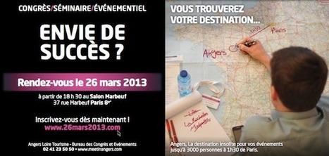 Soirée Networking Angers Loire Tourisme | Le Tourisme d'Affaires | Scoop.it