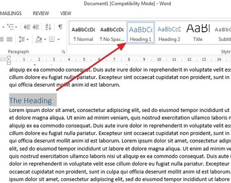 How to create PDF with bookmarks in Microsoft Word? | Tips for Managing and Organizing Electronic Documents | Scoop.it