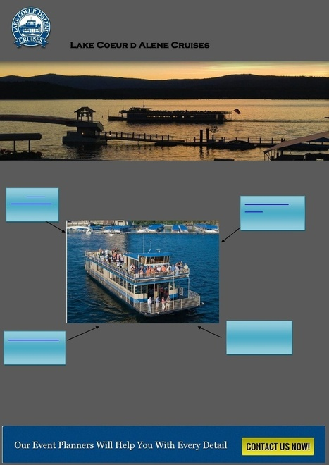 Coeur d Alene Lake Cruise: Enjoy Private Charter Cruise, Sunset Dinner, Pirate Ship Cruise | Lake Coeur d Alene Cruise | Scoop.it
