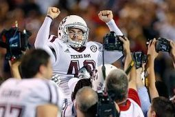 Lambo an unlikely hero for Texas A&M - ESPN (blog) | Football walk-on | Scoop.it