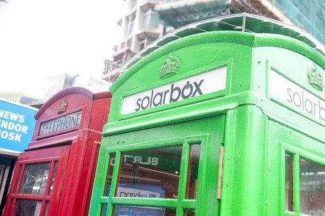 London phone boxes become smartphone-charging stations (Wired UK) | Social Psychology, Environnment, Design | Scoop.it