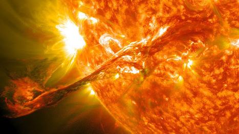 Soleil: les images magnifiques de la NASA   Mon mess a moi   Scoop.it