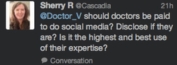 Should Doctors be Paid to Use Social Media? | PHARMAGEEK & SOCIAL MEDIA | Scoop.it