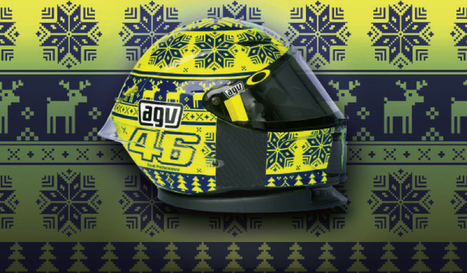 Sepang, a winter helmet for Rossi! | Motorcycle Industry News | Scoop.it