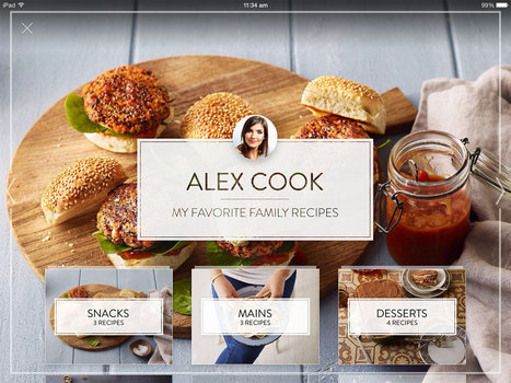 Cook: The World's Cook Book | Benchmark Mobile User Interface | Scoop.it