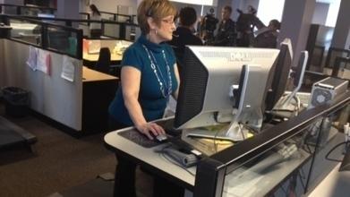 Office installs desk treadmills to ramp up productivity | Wellbeing | Scoop.it