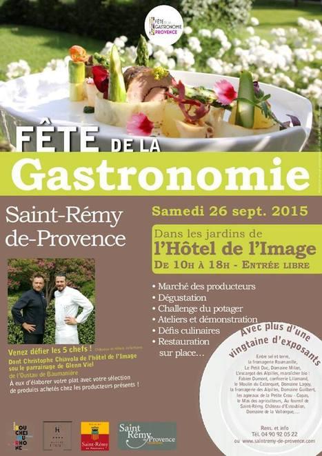 Fête de la Gastronomie:                              Défiez les Chefs!   Saint Rémy de Provence Tourisme   Scoop.it