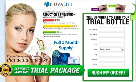 Nuvalift Review - GET FREE TRIAL SUPPLIES LIMITED!!! | nuvaliftanti-aging.com | Scoop.it