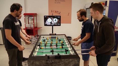 Un baby-foot couplé à un Raspberry Pi... pour filmer les buts ! | Vous avez dit Innovation ? | Scoop.it