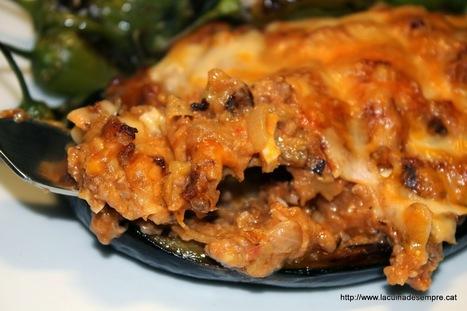 La cuina de sempre: Albergínies farcides | Receptes | Scoop.it