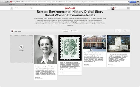 Teaching With Pinterest and Wikipedia | Digital Curation & Education Project | Scoop.it