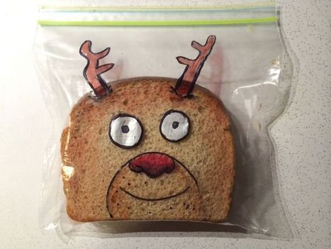 Art in real life (the sandwich bag)   creativity   Scoop.it