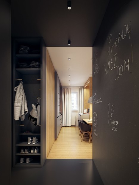 A Modern Scandinavian Inspired Apartment With Ingenius Features | CLOVER ENTERPRISES ''THE ENTERTAINMENT OF CHOICE'' | Scoop.it