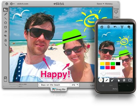 Skitch - Annotate, edit and share your screenshots and images...fast. | New Web 2.0 tools for education | Scoop.it