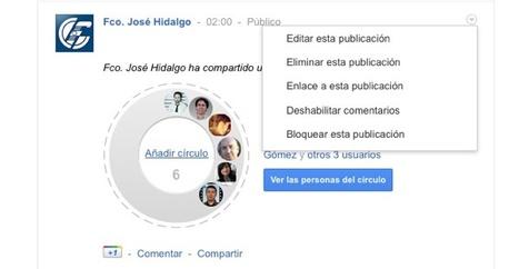 Cómo añadir círculos sociales al directorio de círculos compartidos de Google+   Aplicaciones y Herramientas . Software de Diseño   Scoop.it