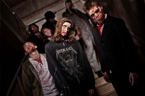 """Zombie Shopping Mall – A Real-Life """"Dawn of the Dead"""" Experience 