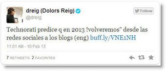 Regresaremos a los blogs en 2013 | Bichos en Clase | Scoop.it