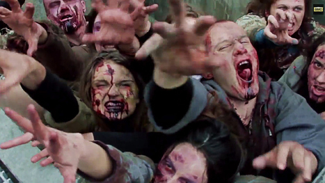 'Walking Dead' Zombies Prank NYC Pedestrians - Variety | Zombie Mania | Scoop.it