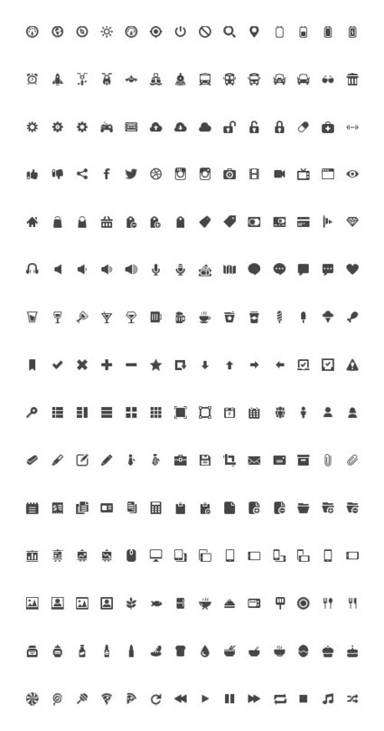 Freebie: Gemicon Icon Set (600 PNG Icons + PSD Source) | Webspiration | Scoop.it