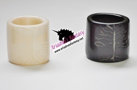 Carved Ivory Rings | Natural Organic Jewelry | Scoop.it