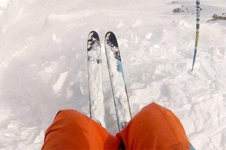 Freeride : Julien Lopez sort indemne d'une énorme avalanche | Pyrénées | Scoop.it