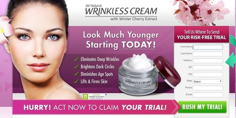 Wrinkless Cream Review - GET FREE TRIAL SUPPLIES LIMITED!!! | Lea Moore | Scoop.it