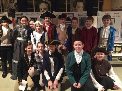 TMS sixth grade Patriots — 'A Night at the Museum' - EastBayRI.com | TMS Rocks! | Scoop.it