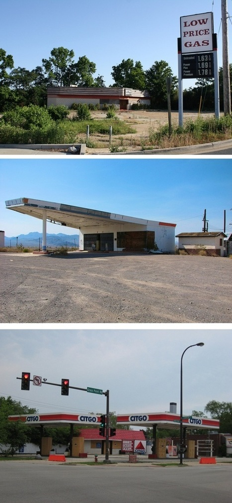 Faded Americana: Abandoned Motels, Diners and Gas Stations | Urban Ghosts | | The Architecture of the City | Scoop.it