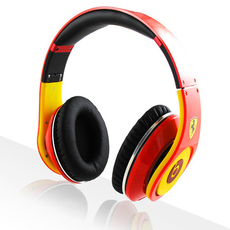 Beats By Dre Studio Ferrari Beats Limited Edition Red Yellow | Cheap beats by dre ferrari | Scoop.it
