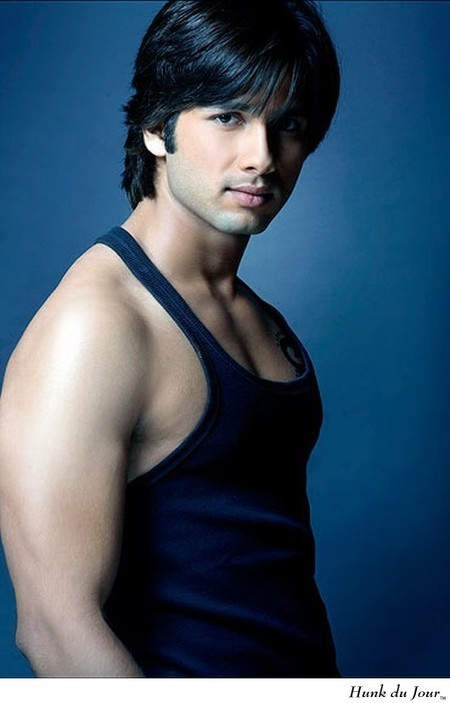 Your Hunk of the Day: Shahid Kapoor : Hunk du Jour