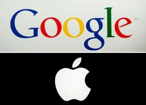 Google et Apple: deux titans de la tech au sommet de la hiérarchie boursière mondiale | SMP conseil en communication | Scoop.it