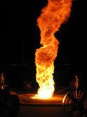 Flaming Tornado - Mind Bending Fire Art and Performance | Flow Visualization | Scoop.it