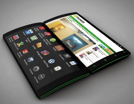 "Flip Phone "" Smartphone Concept by Kristian Ulrich Larsen | Art, Design & Technology | Scoop.it"