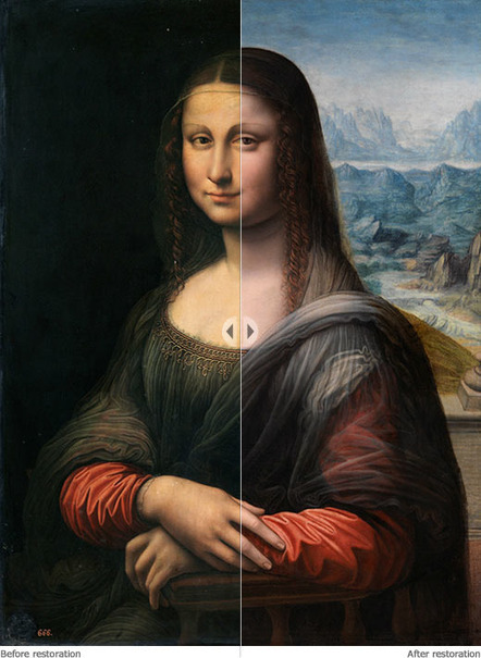 Museo Nacional del Prado: Interactive viewfinder: the work before and after restoration | Oh, you pretty things! | Scoop.it