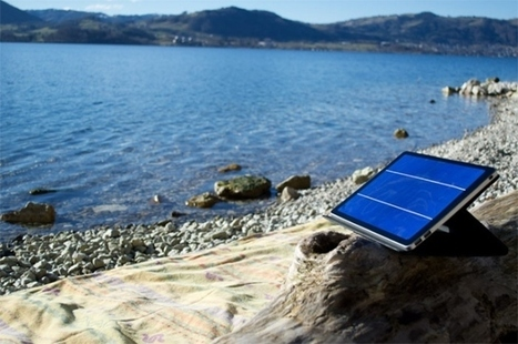 Crowdfunding Hit — Solar Charger For Tablets | Digital Sustainability | Scoop.it
