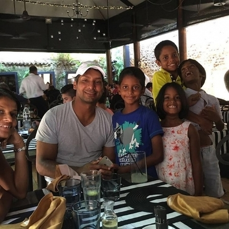 (Photos) Kumar Sangakkara with his family | Sri Lanka Cricket | Scoop.it