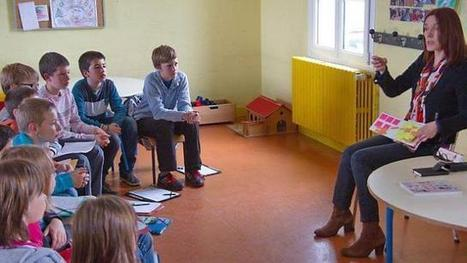Les élèves ont échangé avec Nathalie Dargent | L'école Cousteau dans la presse et sur internet... | Scoop.it