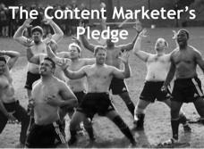 Content Marketer's Pledge | #ContentMarketing | Scoop.it