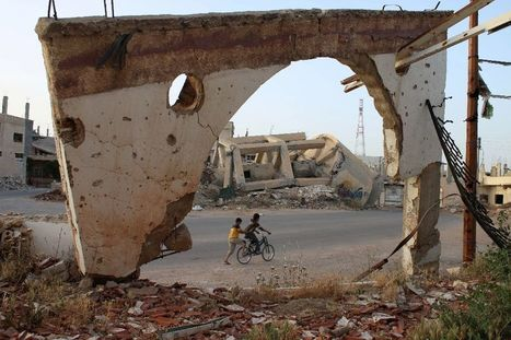 Syria regime retakes key town outside capital: monitor | Archaeology, Culture, Religion and Spirituality | Scoop.it