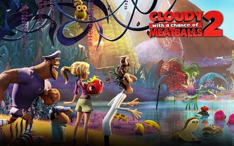 Download Cloudy with a Chance of Meatballs 2 Movie | movies | Scoop.it