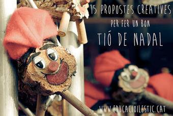 15 propostes creatives per fer un bon Tió de Nadal | Actualitat educativa. Seminari. | Scoop.it