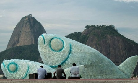 Giant Fish Sculptures Made from Discarded Plastic Bottles in Rio | Colossal | Education for Sustainable Development | Scoop.it