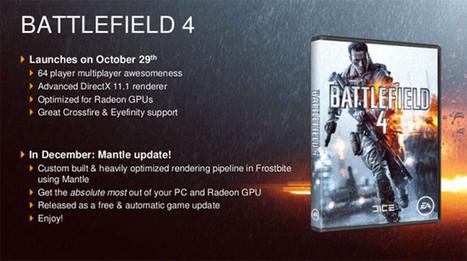 Battlefield 4 – technologie Mantle a limitovaná edice karty R9 290x | Battlefield 4 novinky | Scoop.it