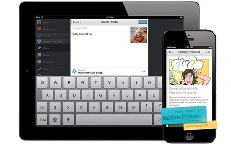 WordPress para iOS se actualiza incluyendo un nuevo lector nativo - Appleweblog (blog) | WordPress | Scoop.it