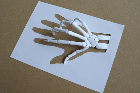 AMAZING PAPER CUT BY PETER CALLESEN - Inspired by Design | Inspired By Design | Scoop.it